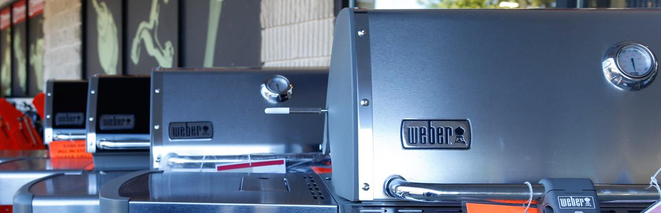 weber grills at brinkmanns