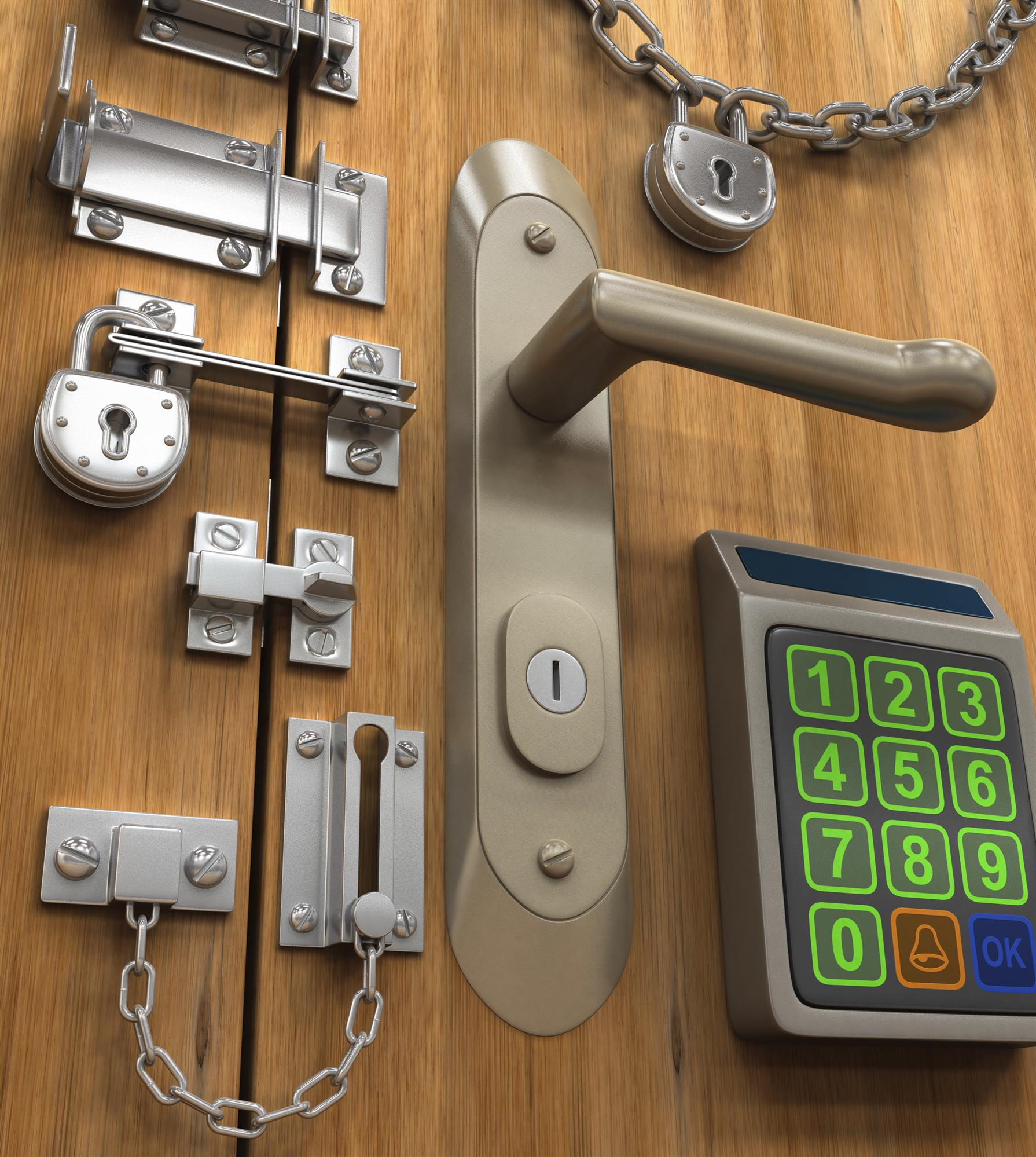 Door Locks to Protect Your Home & Door Locks to Protect Your Home During the Holidays