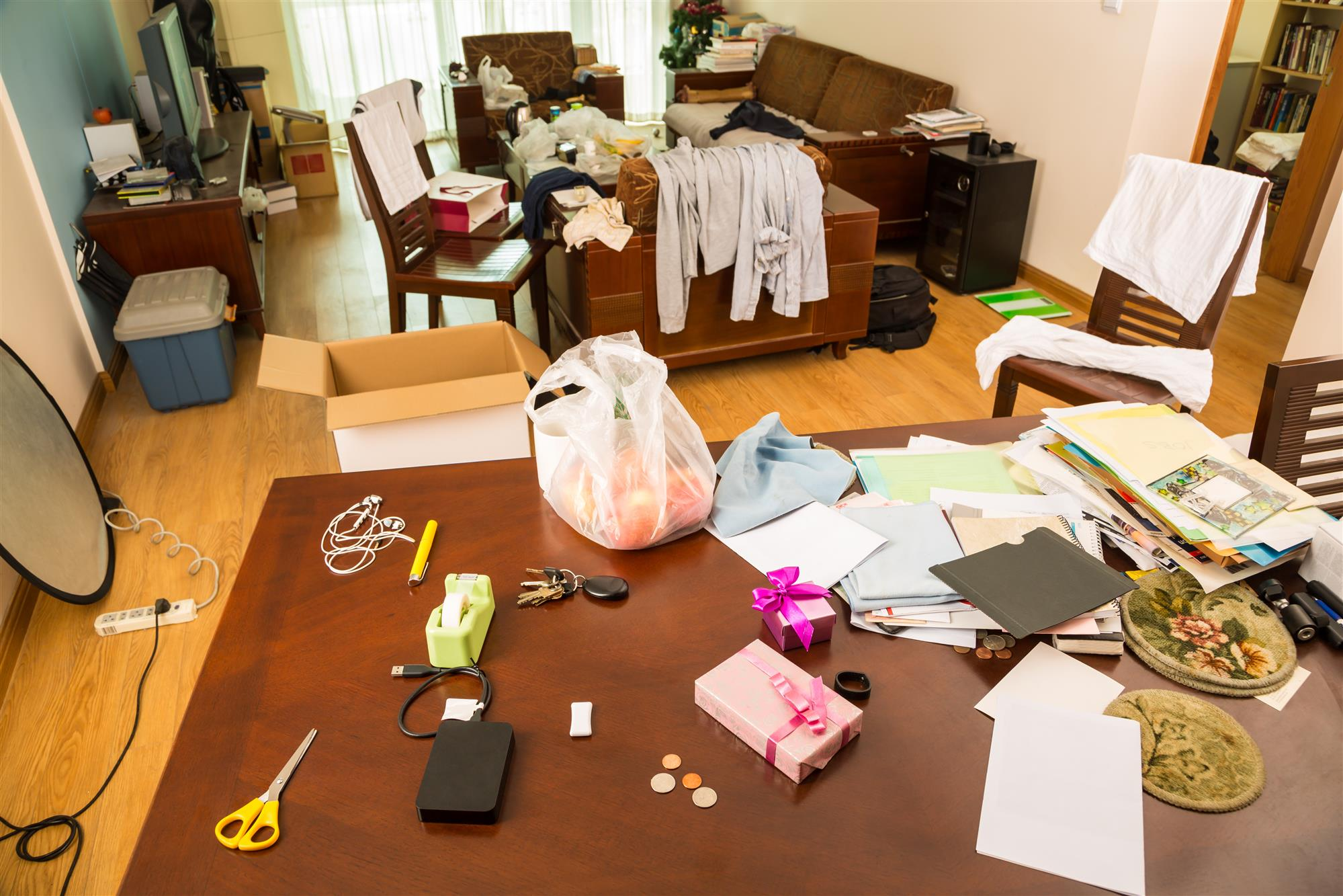 Tips on Organizing/Decluttering Your Home This Winter