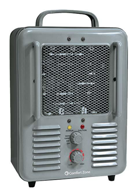 Comfort Zone Milk House Utility Heater