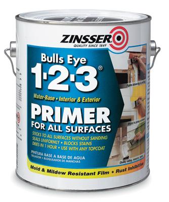 Zinsser 1 Gallon Primer/Sealer/Stain Killer 1-2-3
